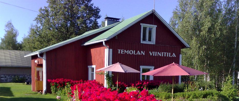 Tervetuloa Temolan Viinitilalle!