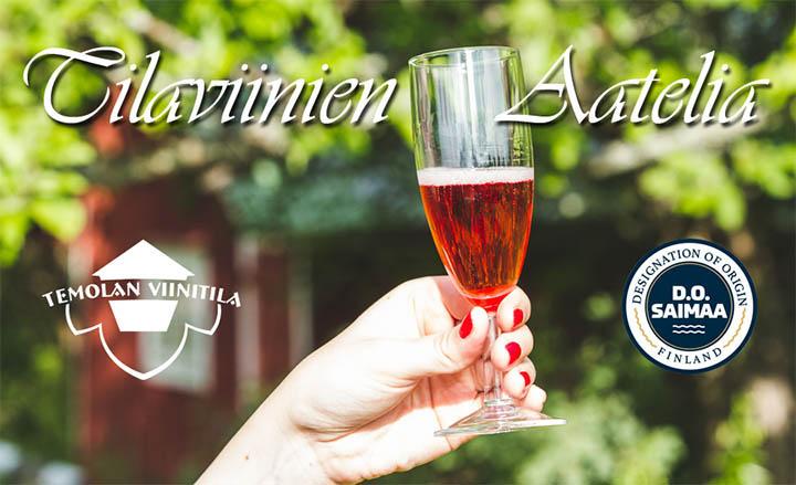 Tilaviinien Aatelia, Temolan Viinitila, Do-Saimaa, Puumala, Niinisaari, Maijastiina, Emilia, Niiniviini, Vilhelmiina, tilaviini kuohuviini,siideri, viinitupa, viinimyymälä